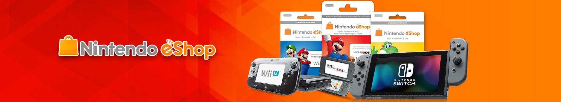 Buy Nintendo eShop Card