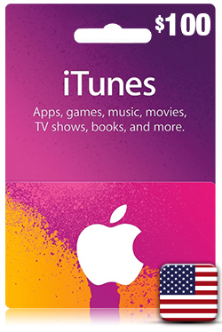 iTunes Gift Card 100 USD- US