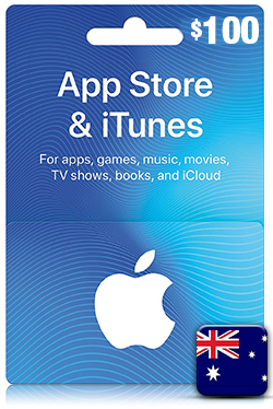 iTunes Gift Card 100 Aud - AU