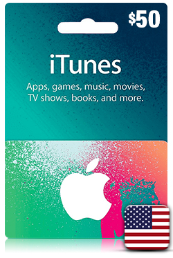 iTunes Gift Card 50 USD- US