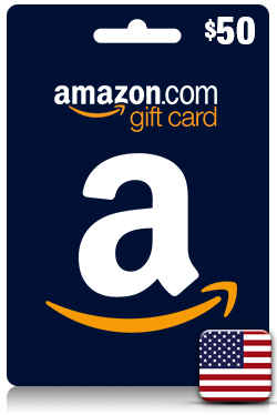 Amazon Gift Card 50 USD - [ US ]