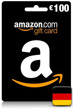 Amazon Gift Card 100 EUR - [ DE ]