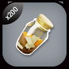 200x Rough Mineral Powder