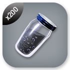 200x Char-Black Mineral Powder Tier 4