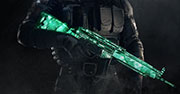 Emerald weapon skin