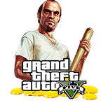 (Grand Theft Auto V) GTA 5 Money