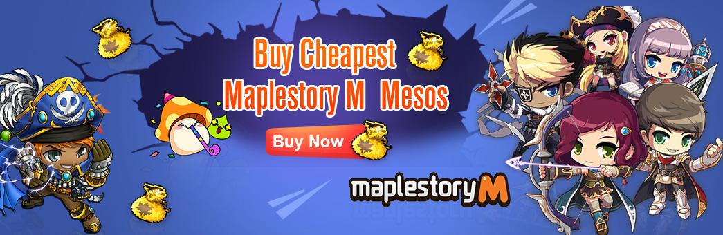 Cheap MapleStory M Mesos