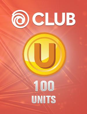 Ubisoft Club 100 Units