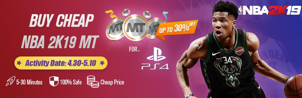 Buy NBA 2K19 PS4 MT