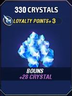 330 Crystals