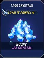 1100 Crystals