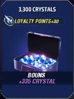 3300 Crystals