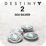 500 Destiny 2 Silver