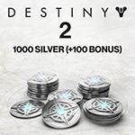 1000 (+100 Bonus) Destiny 2 Silver