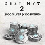 2000 (+300 Bonus) Destiny 2 Silver