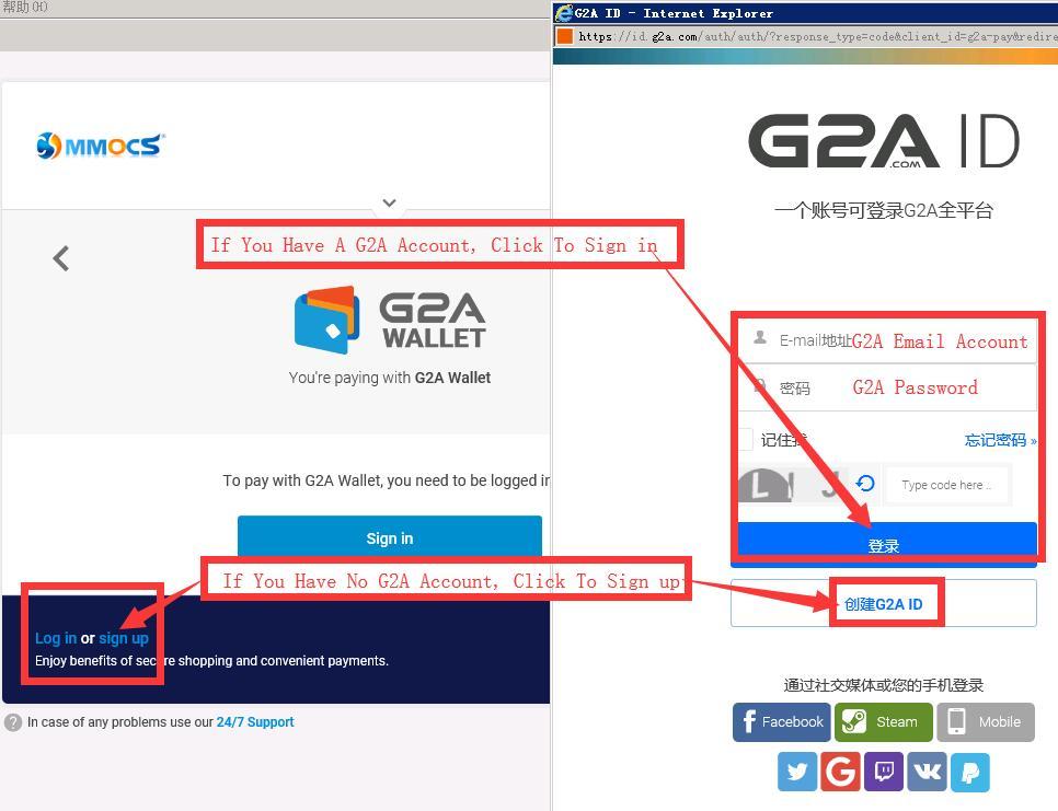 How To Use G2A PAY Or Paypal Top up To G2A Pay When Checkout