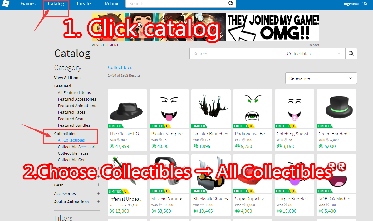 Mmocs Robux - How To List Item In Roblox