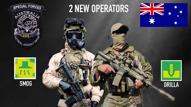 Rainbow Six Siege New Operators 2019 Release Date Two New Australian Operators may Come to Rainbow Six Siege in 2019