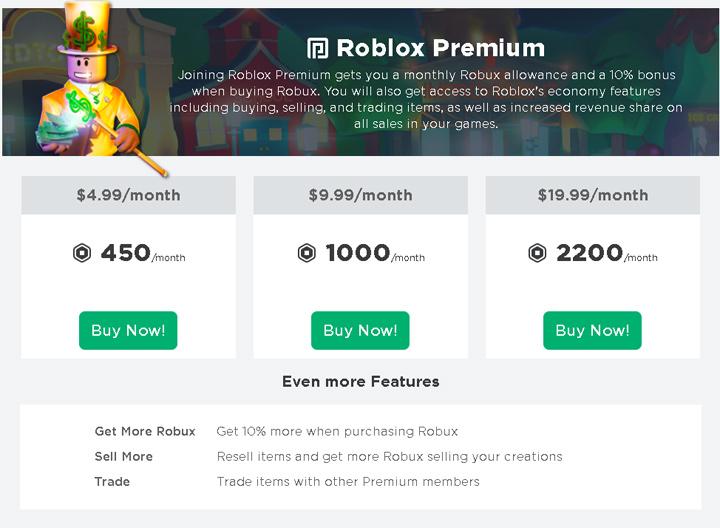 Roblox Premium Membership Buy Safe Roblox Premium Membership