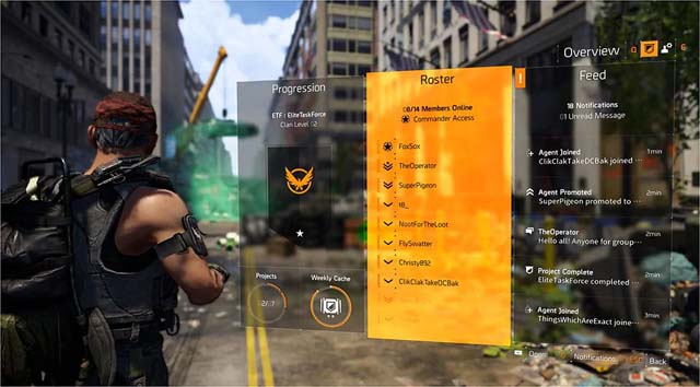 The Division 2 Clan