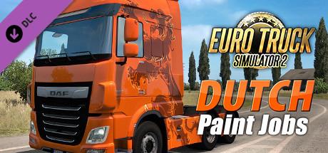 Euro Truck Simulator 2 - Dutch Paint Jobs Pack