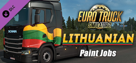 Euro Truck Simulator 2 - Lithuanian Paint Jobs Pack