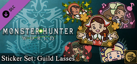 Monster Hunter: World - Sticker Set: Guild Lasses